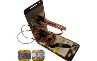 Chip-in-the-middle : démo de hack sur les pièces détachées de portable