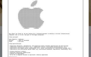 Comment nous avons trouvé cette  offre d'emploi cachée Apple