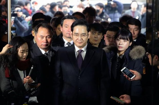 Crime et châtiment pour l'héritier de Samsung, Lee Jae-yong - 2017 - 2018