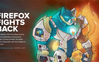 Firefox contre-attaque : prends garde à toi Google Chrome !