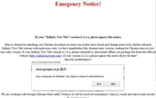 Google Chrome : gare aux extensions malveillantes