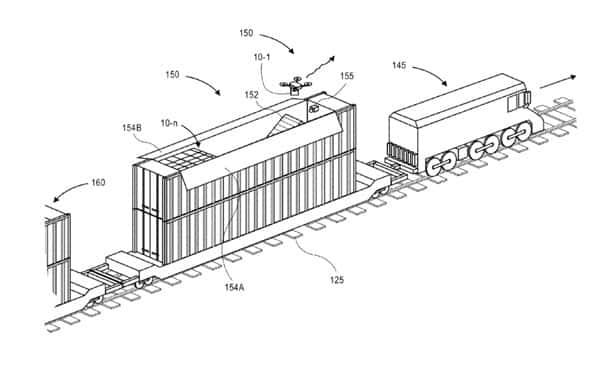 trains bateaux camions larchitecture folle imaginee par amazon pour vous livrer par drone - Trains, bateaux, camions ; l'architecture folle imaginée par Amazon pour vous livrer par drone
