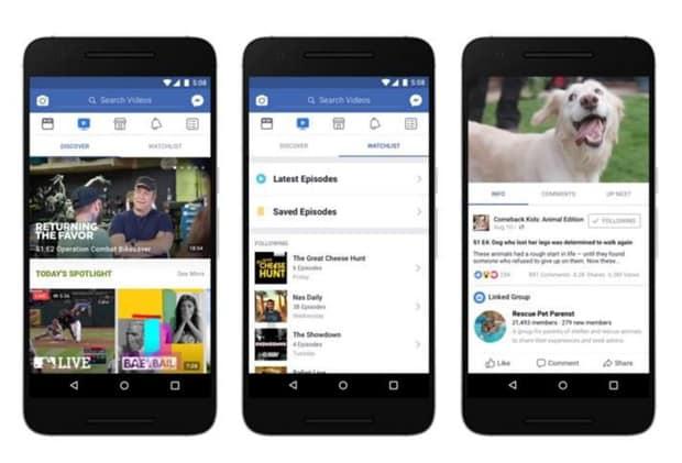 Watch : qui veut voir des vidéos exclusives sur Facebook ? Streaming, Publicité mobile, Publicité, Facebook