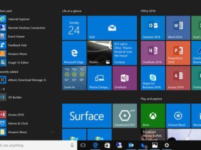 Windows 10 Creators Update : dernière ligne droite - 2017 - 2018
