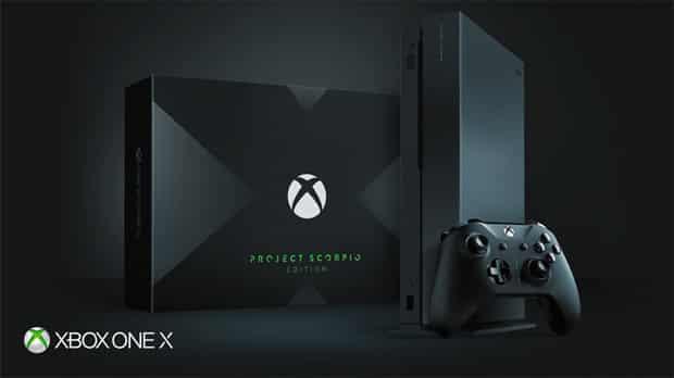 xbox one x et project scorpio edition microsoft insiste - Xbox One X et Project Scorpio Edition : Microsoft insiste