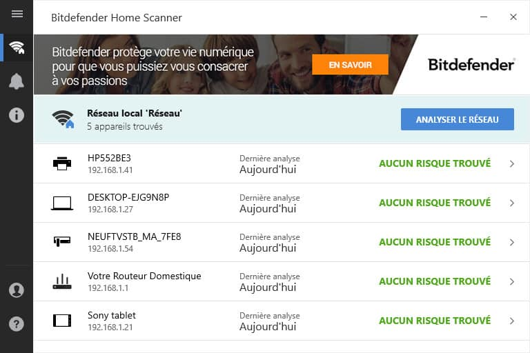 Bitdefender Home Scanner - 2017 - 2018