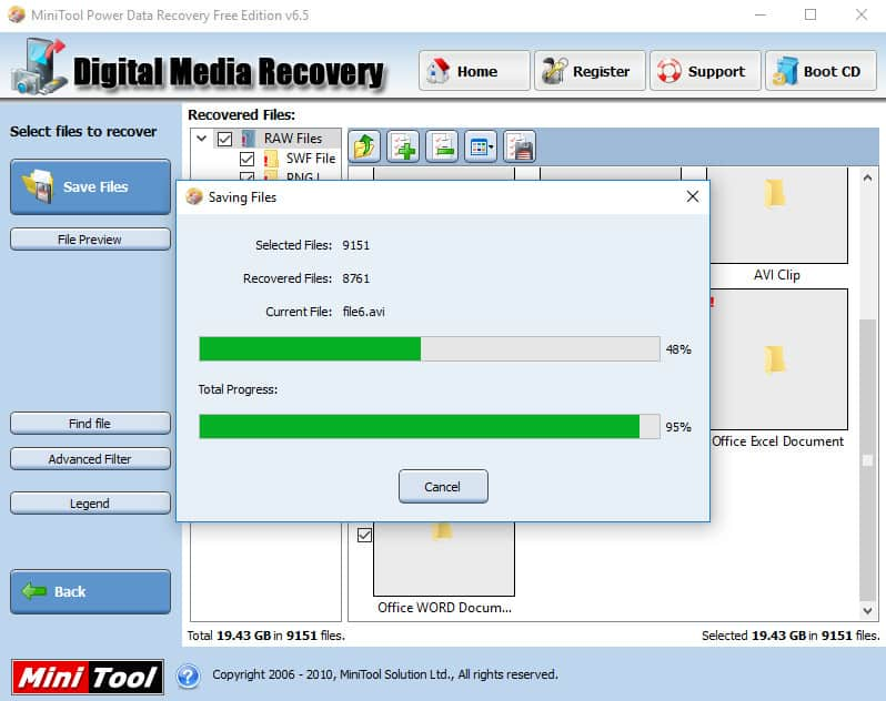 Clé USB demande formatage - sauvegarde donnée 95%