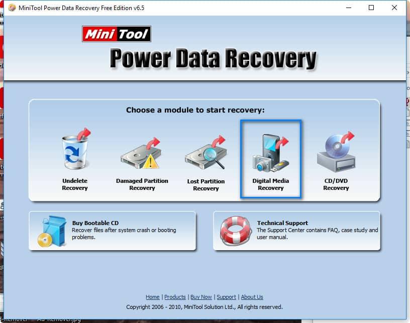 Recuperer les fichiers et dossiers perdus gratuitement