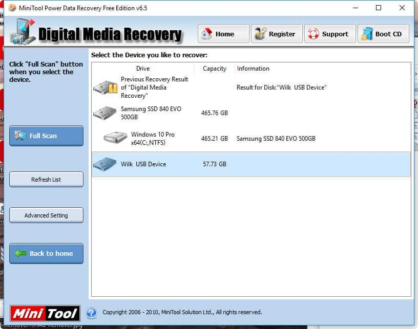 reparer cle USB demande formatage