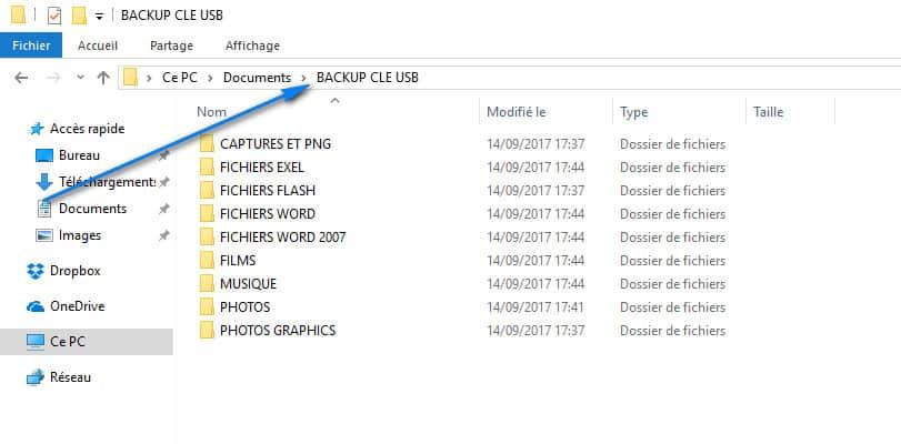 verifier la sauvegarde - Clé USB demande formatage a chaque branchement