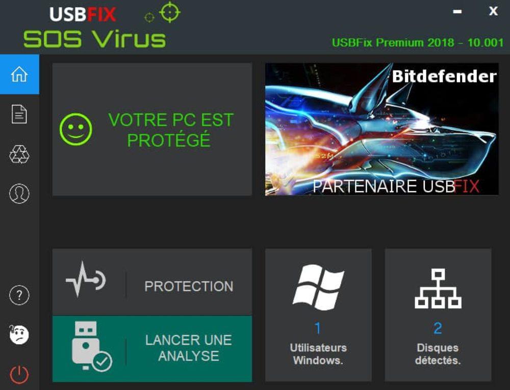 UsbFix 2018 Previsualiser