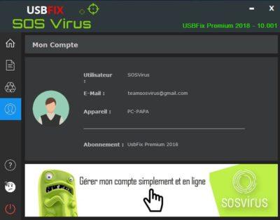 usbfix premium licence activée