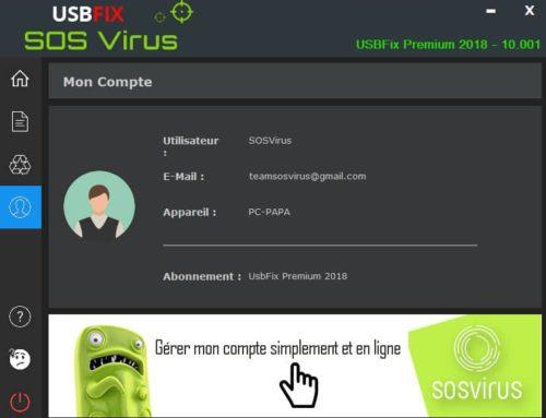 Erreur activation UsbFix Premium