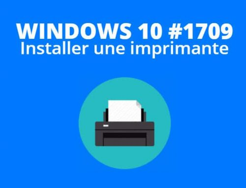 Installer une imprimante avec Windows 10