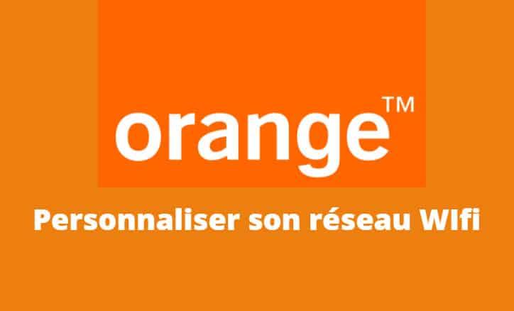 personnaliser wifi orange
