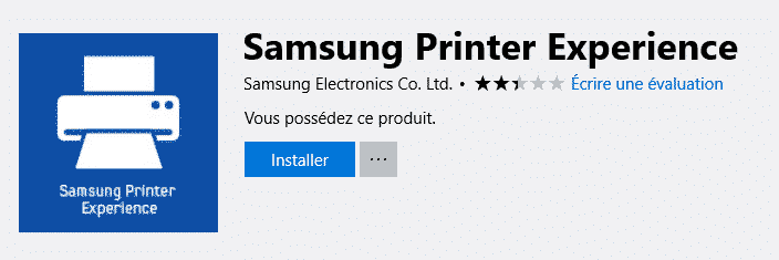 samsung printer experience