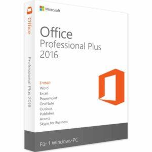 office professionel plus 2016