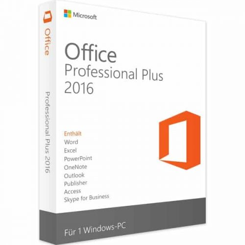 office professionel plus 2016