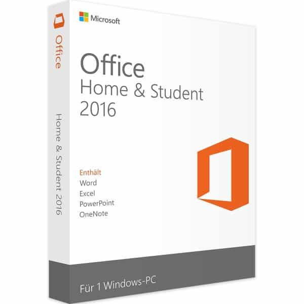 Microsoft Office 2016 Famille et Etudiants