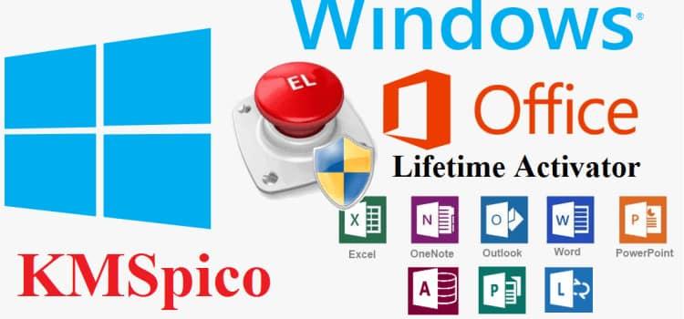 kmspico Windows 10 / 8 / 7 - Office 2019 / 2016