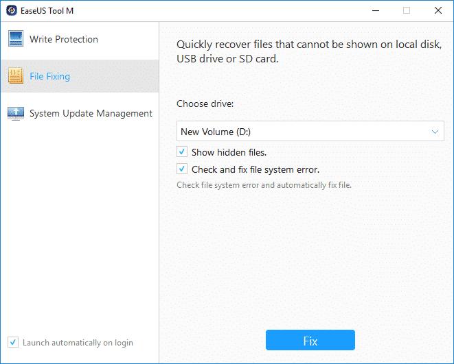 récupérer des fichiers supprimés