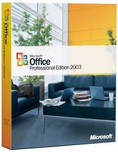 office 2003 pro