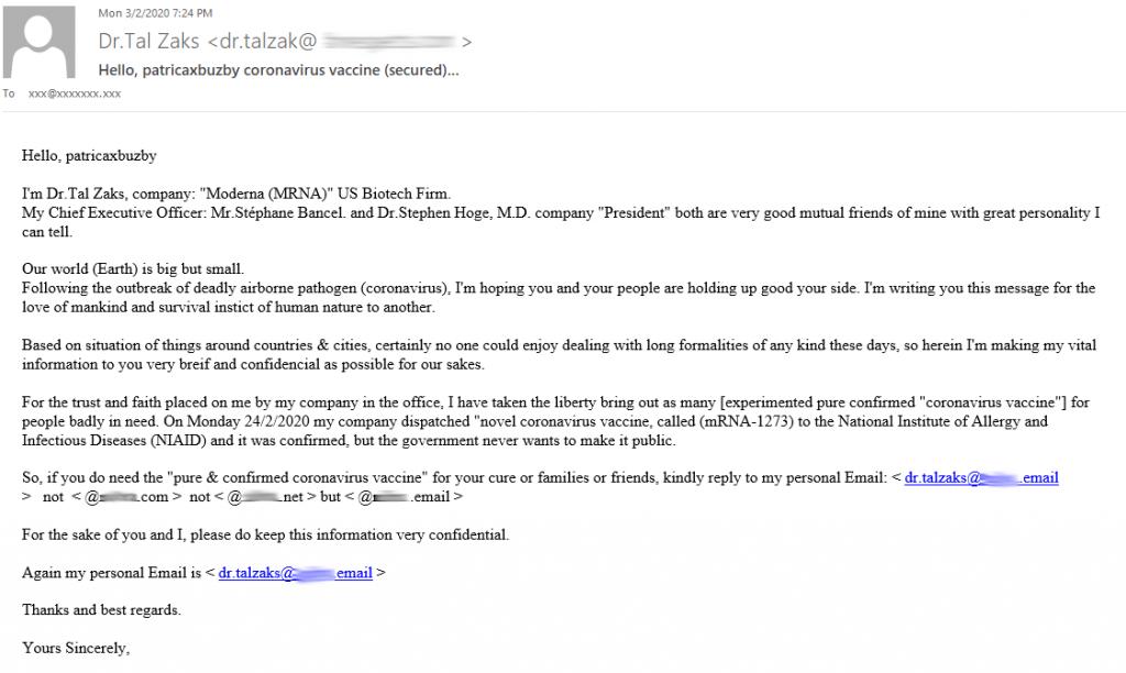 1585046126 225 Bitdefender Des e mails d'informations fallacieux tentent de hameconner vos - Bitdefender : Des e-mails d'informations fallacieux tentent de hameçonner vos données sur fond de crise sanitaire