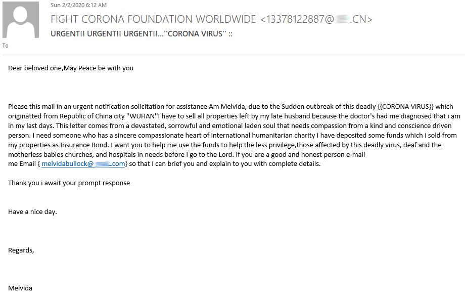 1585046126 5 Bitdefender Des e mails d'informations fallacieux tentent de hameconner vos - Bitdefender : Des e-mails d'informations fallacieux tentent de hameçonner vos données sur fond de crise sanitaire