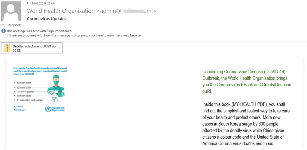 1585046126 730 Bitdefender Des e mails d'informations fallacieux tentent de hameconner vos - Bitdefender : Des e-mails d'informations fallacieux tentent de hameçonner vos données sur fond de crise sanitaire