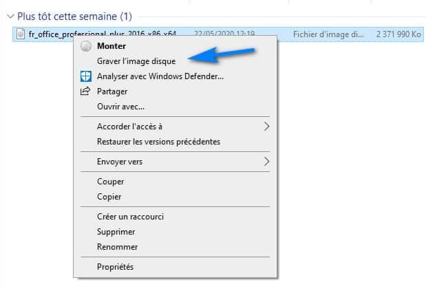 Graver fichier ISO sur CD DVD Windows 10 8 7 - Graver fichier ISO sur CD/DVD Windows 10/8/7