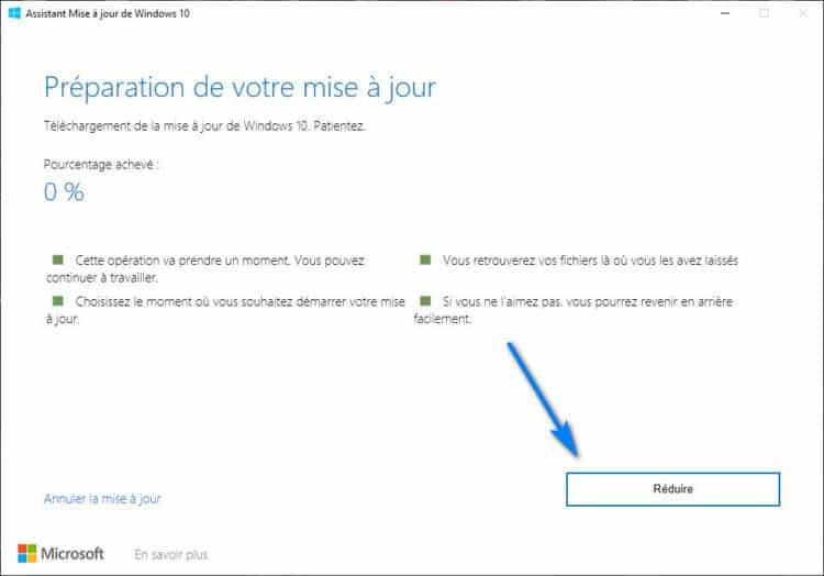 téléchargement de Windows 10 2004 20H1