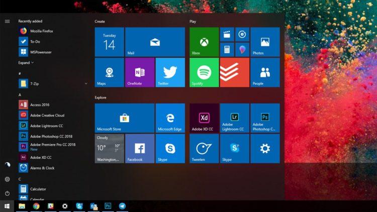 Windows 10 32 bit 1909
