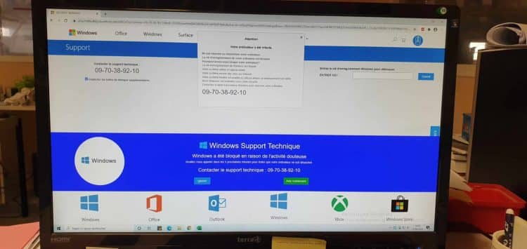 Windows Support Arnaque Belge 750x355 - Windows Support Technique - Arnaque Belge