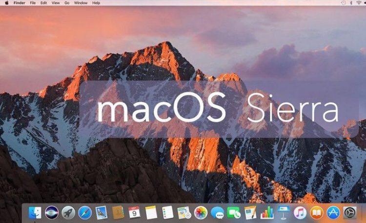 ISO MacOS Sierra