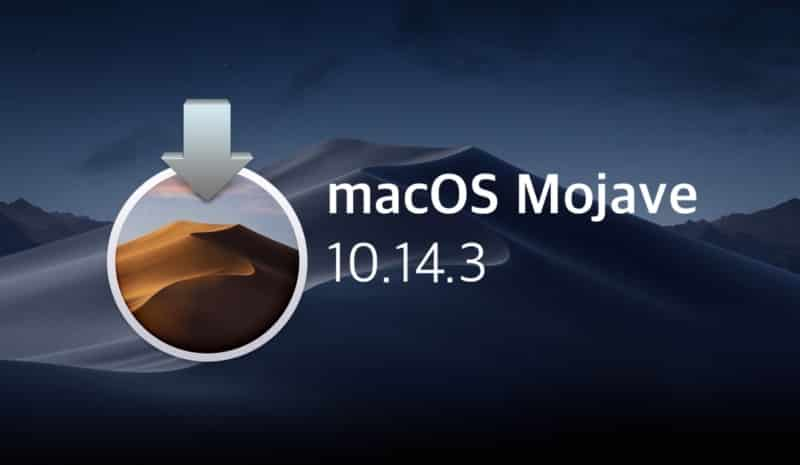 Telecharger ISO MacOS Mojave