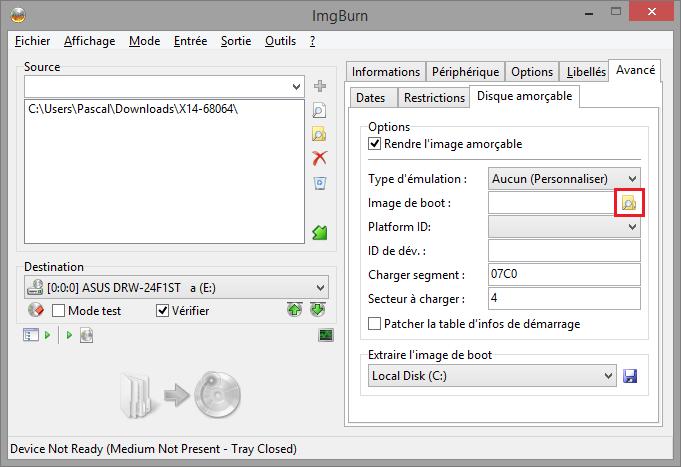 Sanstitre62395 - Tutoriel ImgBurn, graver un fichier iso