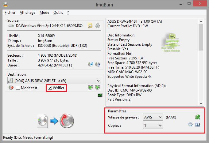 img537949 - Tutoriel ImgBurn, graver un fichier iso