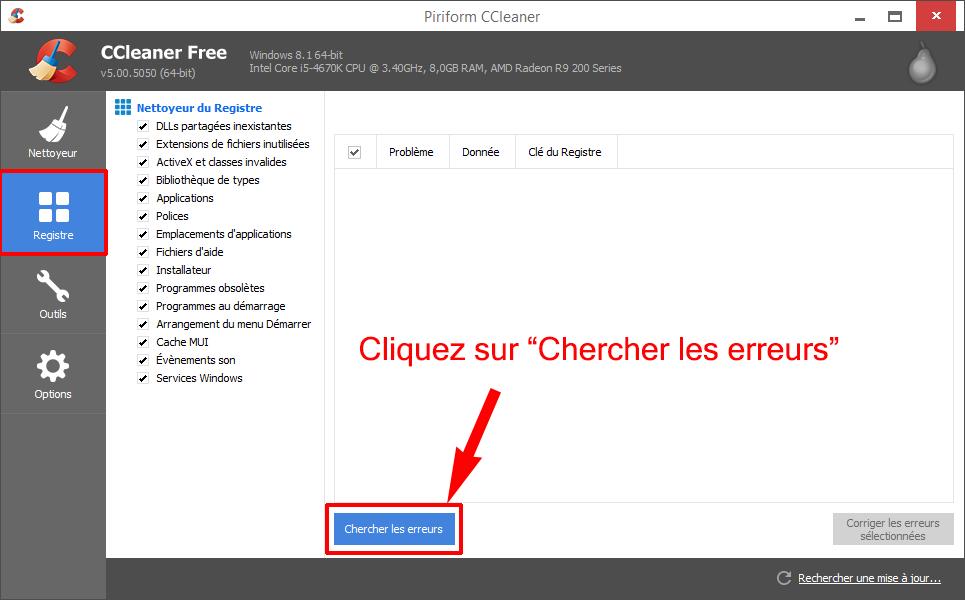 tuto234598 - Tutoriel CCleaner : Nettoyer son PC