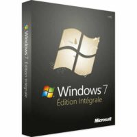 Windows 7 intégrale 32 Bit X86